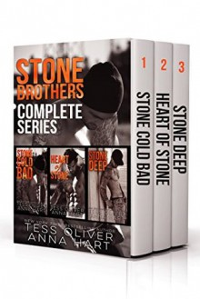 Stone Brothers Box Set: The Complete Series - Tess Oliver, Anna Hart