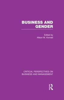 Business and Gender - Alison Konrad