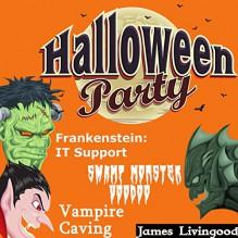 Halloween Party Book Set - James Livingood,Michael Gilboe,J. Scott Bennett,Bryan Patrick Jones,Paperbackward