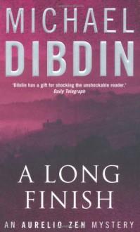 A Long Finish - Michael Dibdin