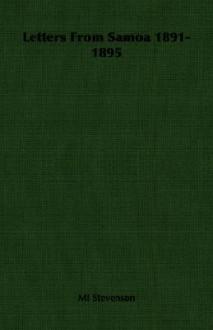 Letters from Samoa 1891-1895 - Mi Stevenson