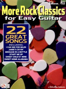 More Rock Classics for Easy Guitar - Cherry Lane Music Co