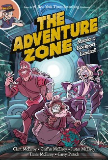 The Adventure Zone: Murder on the Rockport Limited! - Clint McElroy