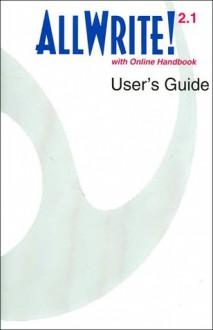 AllWrite 2.1 CD-ROM with User's Guide - Santi V. Buscemi