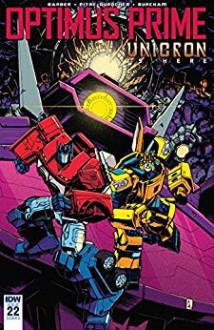 Optimus Prime #22 - Sara Pitre-Durocher,John Barber