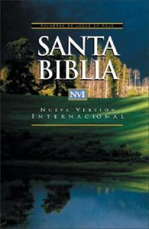 NVI Santa Biblia: Nueva Version Internacional, rustica, palabras de Jesus en rojo - Vida Publishers