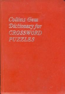 Collins Gem Dictionary for Crossword Puzzles - Jane Kerr MacAuslane