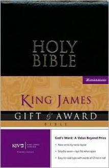 Holy Bible: KJV Gift & Award Bible - Anonymous