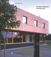 Hermann Kaufmann / Christian Lenz - Walter Zschokke