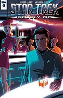 Star Trek: Boldly Go #6 - Mike Johnson,Ryan Parrott,Chris Mooneyham