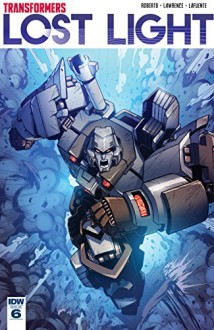 Transformers: Lost Light #6 - James Roberts,Jack Lawrence