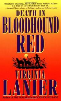 Death in Bloodhound Red - Virginia Lanier