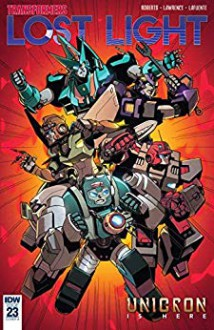 Transformers: Lost Light #23 - Jack Lawrence,James Lamar Roberts