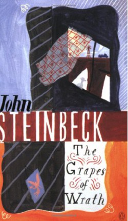 the different literary devices in the grapes of wrath a novel by john steinbeck