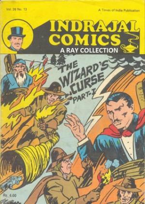 Mandrake-Wizard's Curse 1 ( Indrajal Comics Vol 26 No 13 ) - Lee
