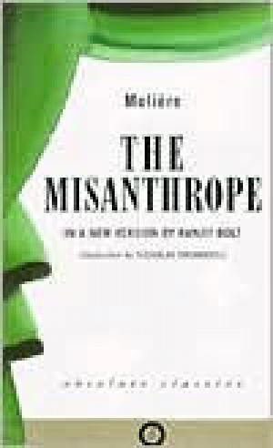 an analysis of the misanthrope by moliere Alceste, the misanthrope, explains to philinte that he hates mankind because there is so much hypocrisy, deceit, and false flattery in the world that he can't f.