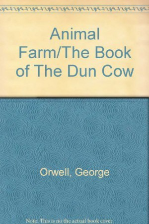 Animal Farmbook Of Dun Cow Center For Learning Curriculum Units