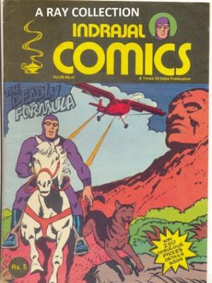 Phantom-The Deadly Formula ( Indrajal Comics Vol 26 No 41 ) - Lee