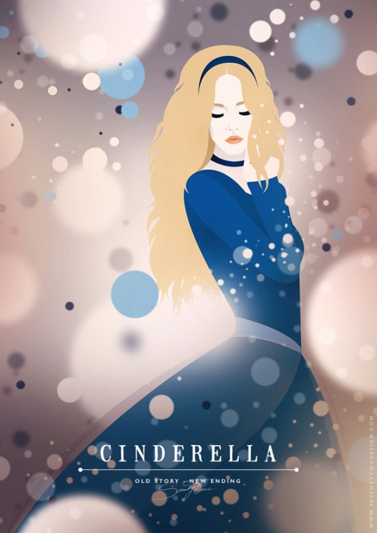 Cinderella Because She's Part of the Set