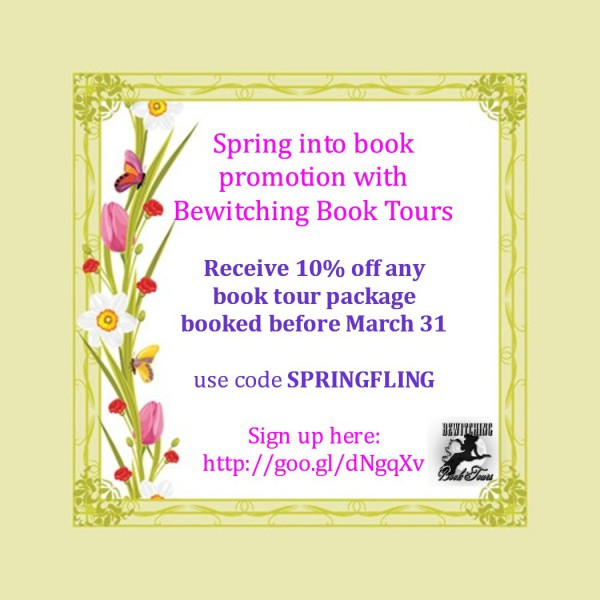 Bewitching Book Tours Spring Sale