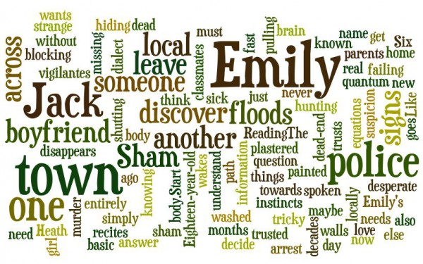 A wordle of my new book, The Sham