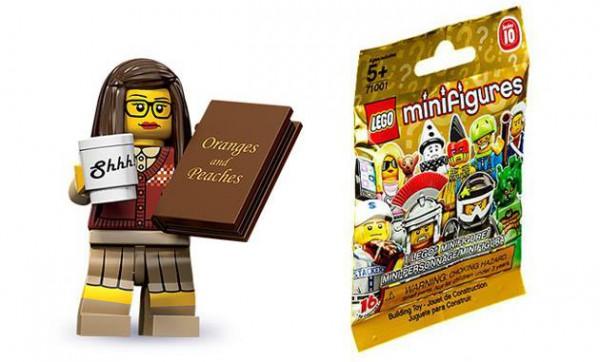 Bibliotekarka LEGO :)