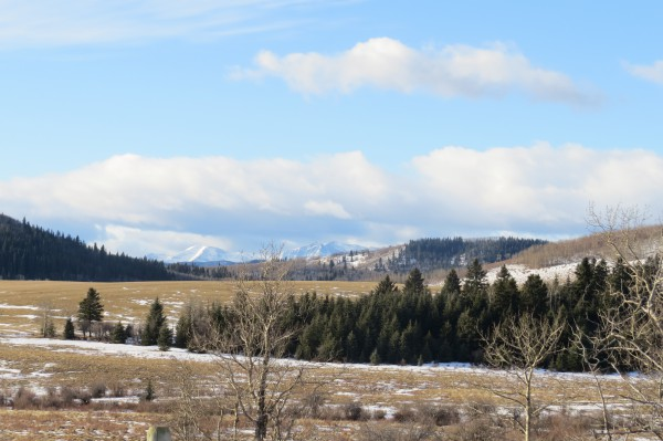 The foothills of Southern Alberta