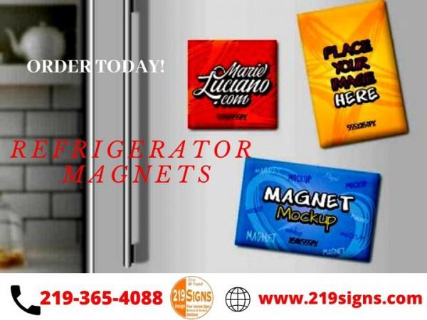 Custom Refrigerator Magnets   219signs