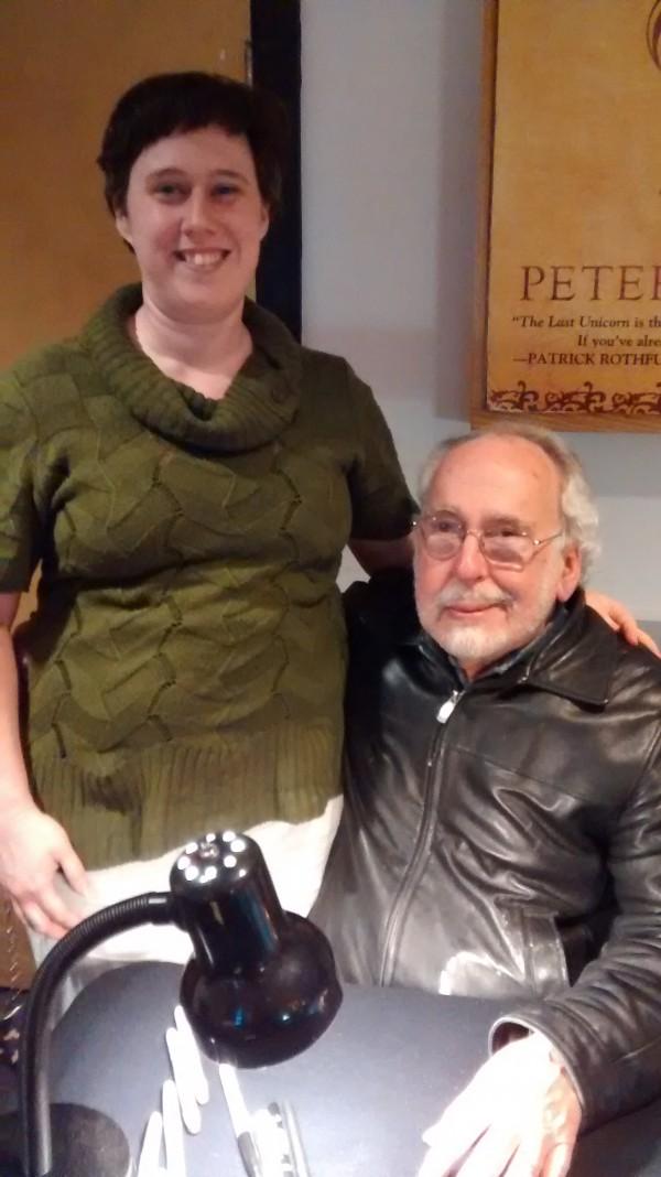 Peter S. Beagle & I, May 2015