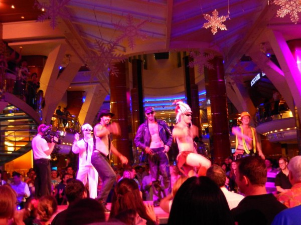 Village People 2013: They MUST keep the Indian this time! He was the hottest thing on the ship! lol