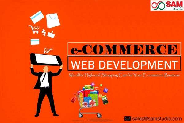 E-commerce Shopping Cart Designing and Development Services