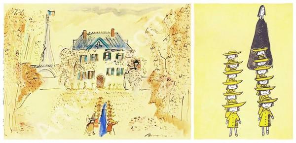 Ludwig Bemelmans - Madeline w Paryżu wyd. Znak