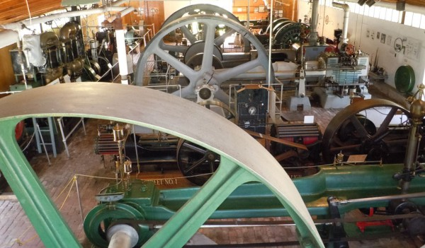 Corliss Steam Engine Boiler Group Gear Rooms The New England Wireless and Steam Museum