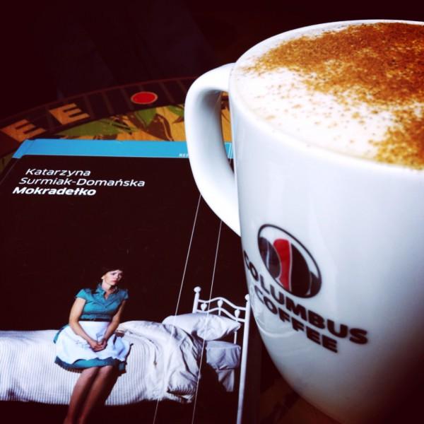 """Mokradełko"" tuż obok cinnapple latte @ Columbus Coffe (Łódź)"