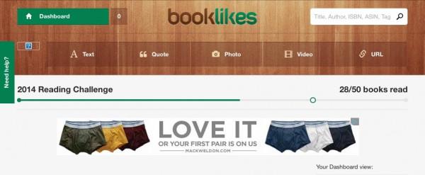 Really, Booklikes?