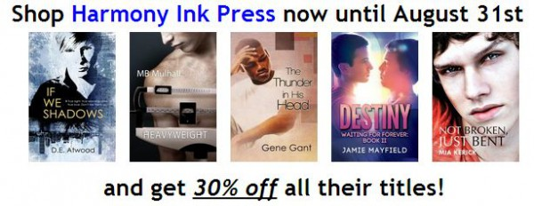 30% Off Harmony Ink Titles