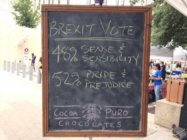 Brexit according to Jane Austen