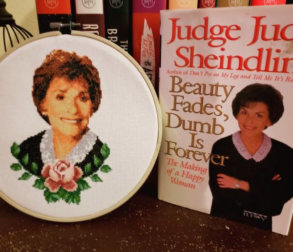 My latest creation, Judge Judy.