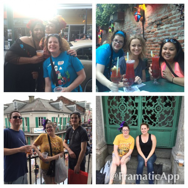 New Orleans was so much fun! Good times and cheers to old and new friends!
