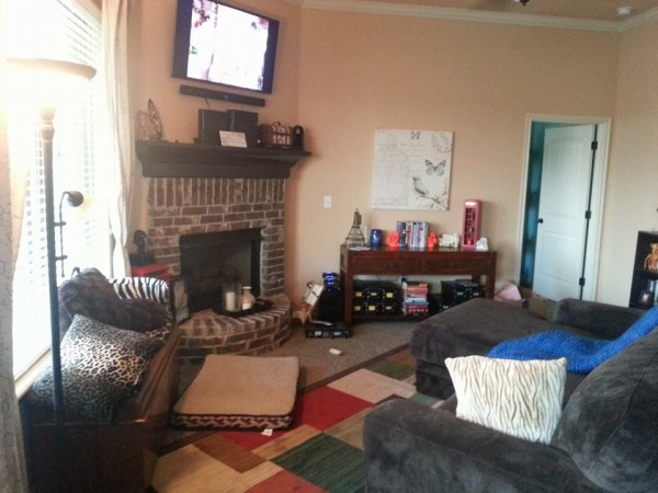 Our family room.