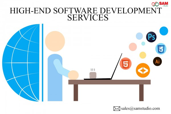 High-End Software Development Services for Corporates and Start-up Companies