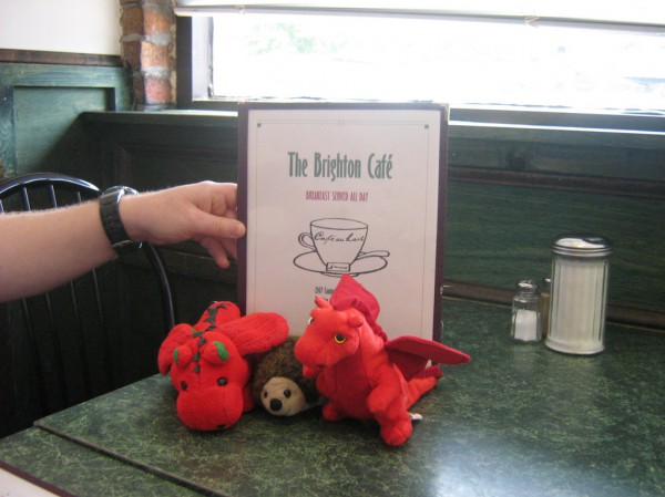 Flagon, Merrydyth and Speedy go out for breakfast in Boston