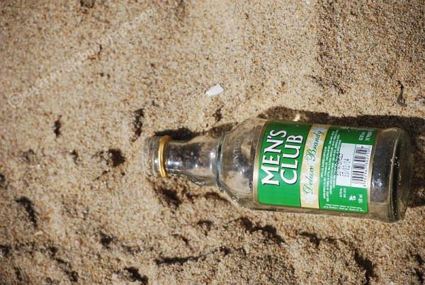 Na plaży... (Ćennaj, 2014 r.)