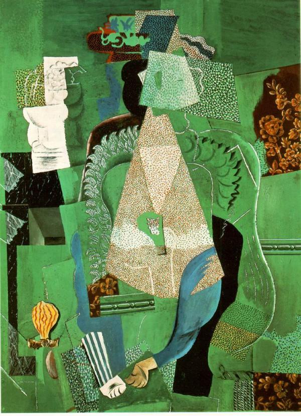 Pablo Picasso - Portrait de la jeune fille, 1914