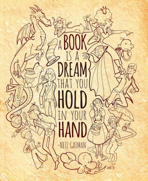 A book is a dream ...