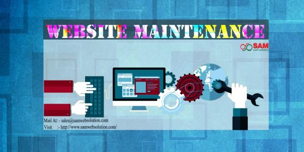 Website Maintenance Service Providing Company
