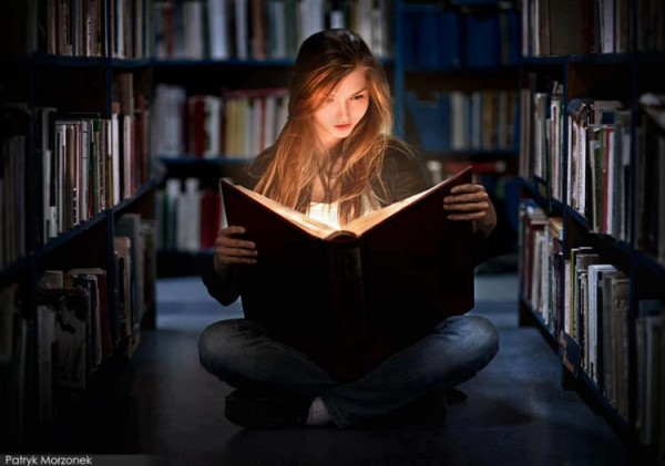 Books... light up our lives and our imaginations...