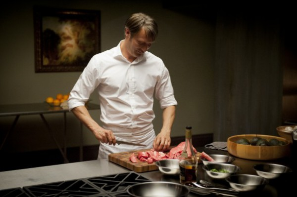 Hannibal Lecter Cooking
