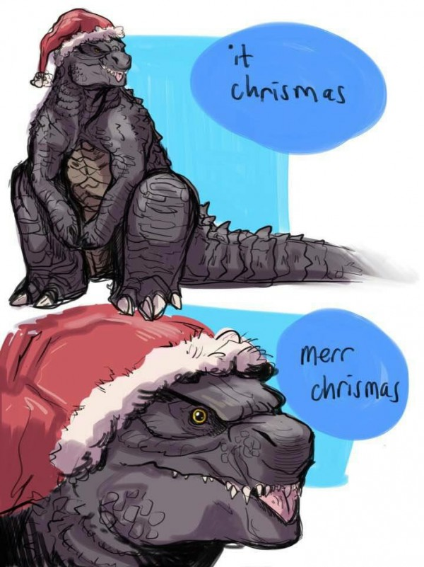 Merr' Christmas, from Super-Mal. :)
