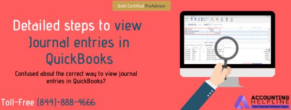 find Journal Entries in QuickBooks